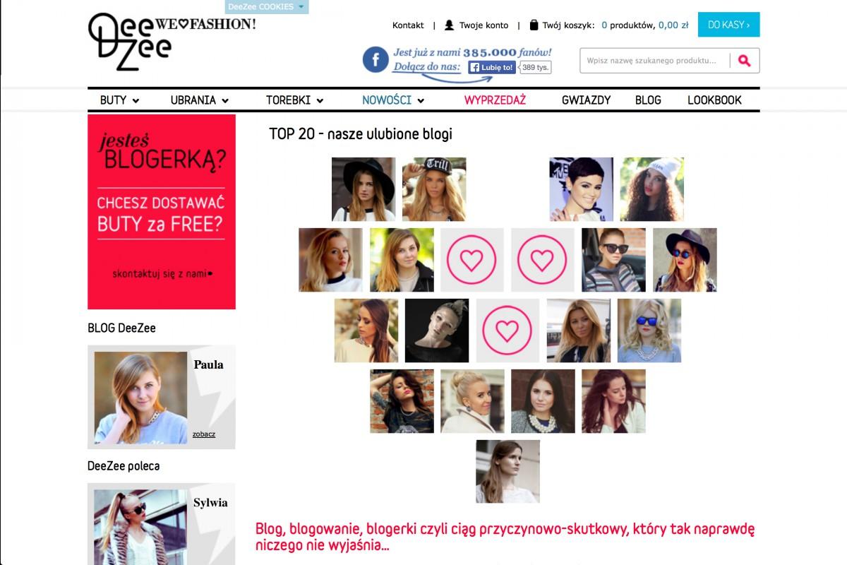 Deezee Bloggerlist