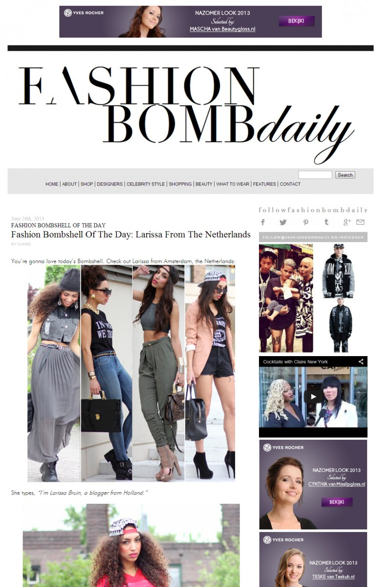 Fashion Bomb Daily Interview