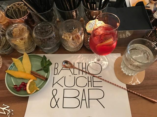 Cocktailworkshop at Baltho Küche & Bar